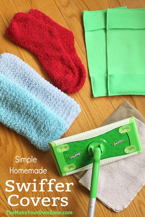 How to make homemade swiffer covers