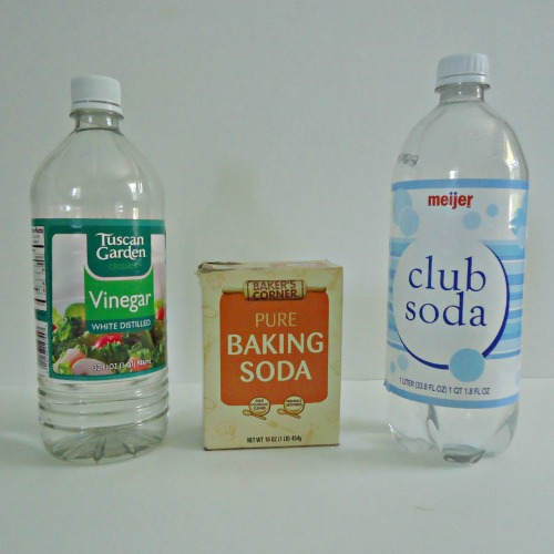 ingredients for homemade cleaners