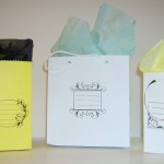 Make Your Own Gift Bags from Envelopes