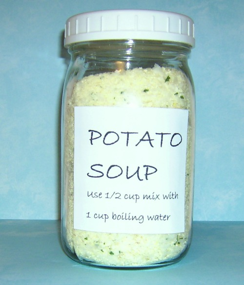 homemade potato soup mix