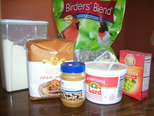 Tortas de semillas de aves silvestres | DCEP