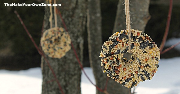 How to make homemade birdseed ornaments