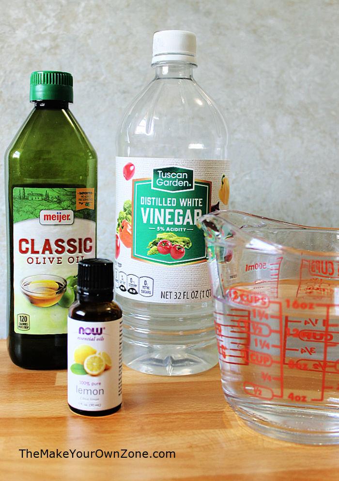 Homemade Dusting Spray ingredients