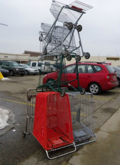 grocery cart 1