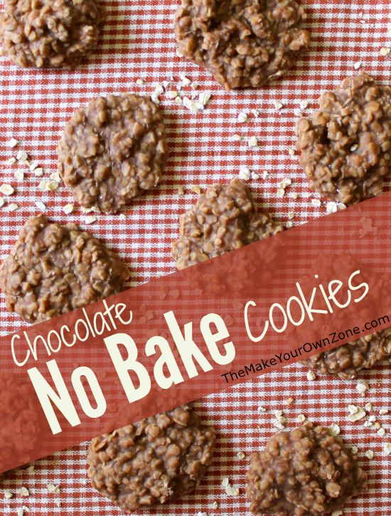 Chocolate No Bake Cookies - An oldie but a goodie that stirs together on the stovetop so there's no need to heat up the oven