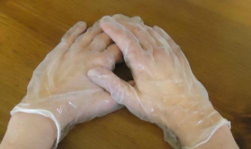 DIY Hot Oil Hand Treatment