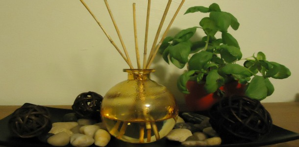 Make Your Own Scented Reed Diffuser