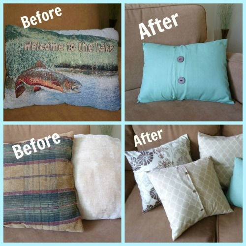 how to make an envelope pillow cover - How To Make A Pillow Cover
