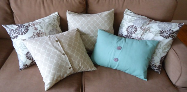 how to make an envelope pillow cover - the make your own zone Make Your Own Throw Pillow Covers