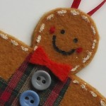 Christmas Craft Flashback #3 – Felt Gingerbread Men