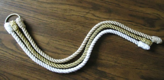 god s knot cord of three strands the make your own zone
