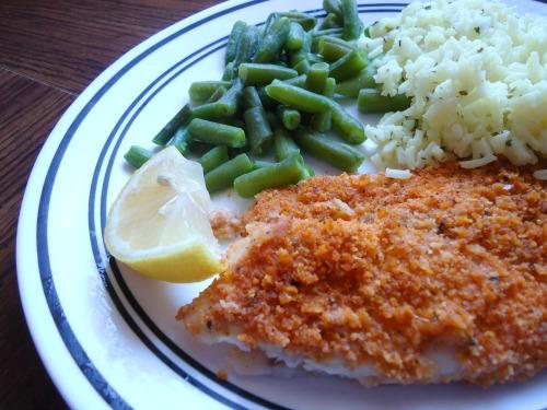 Fish crumb coating recipe