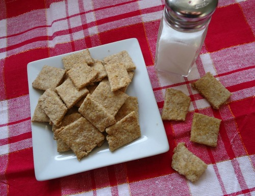 Make Your Own Wheat Thins Crackers - The Make Your Own Zone