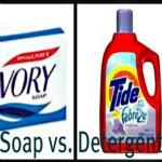 soap v detergent