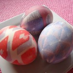 How to Color Easter Eggs with Silk Ties