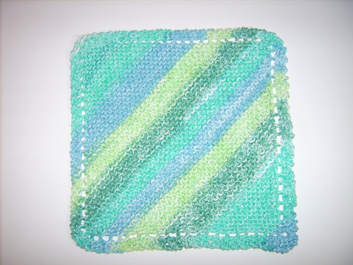 Knitting Pattern Tracker : My Favorite Knit Dishcloth - The Make Your Own Zone