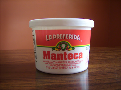 Lard is also called Manteca