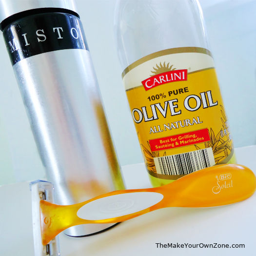 shaving legs with olive oil