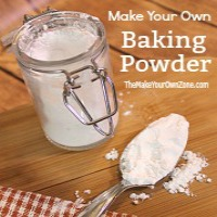 Homemade baking powder substitute