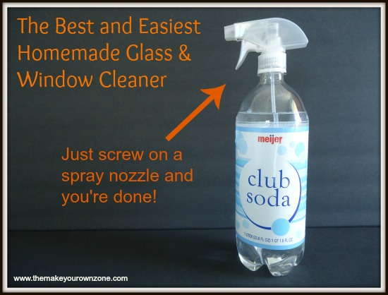 The Best And Easiest Homemade Glass And Window Cleaner