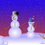 online make your own snowman