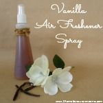 DIY Vanilla Air Freshener Spray
