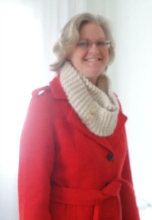 Easy Knit Infinity Scarf The Make Your Own Zone