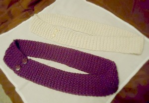 Easy Knit Infinity Scarf Pattern