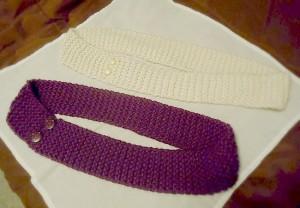 Easy Knit Infinity Scarf Pattern