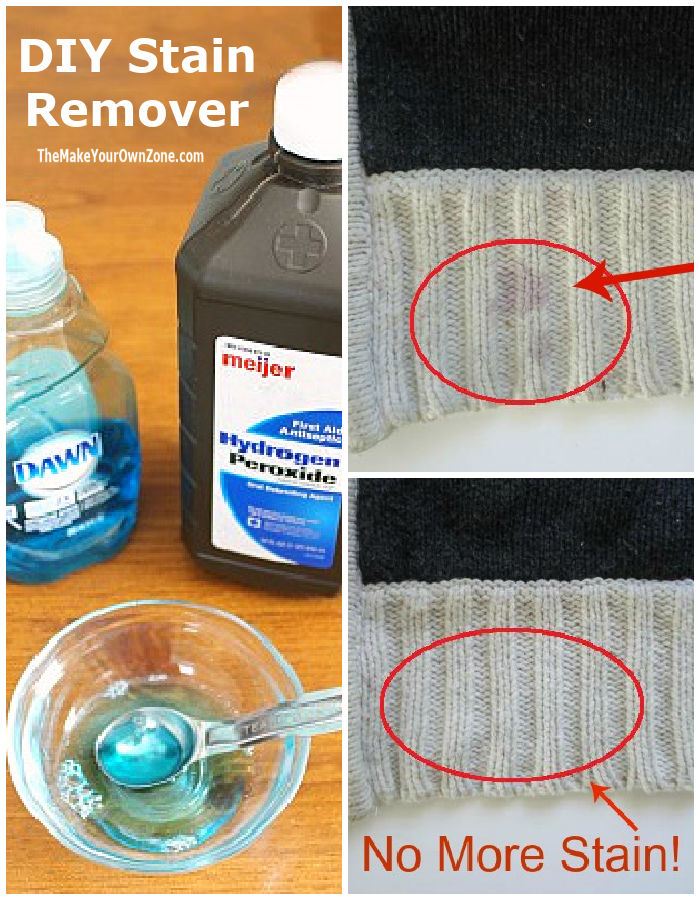 homemade stain remover