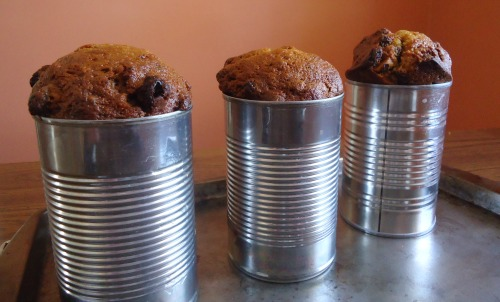 brown bread in cans