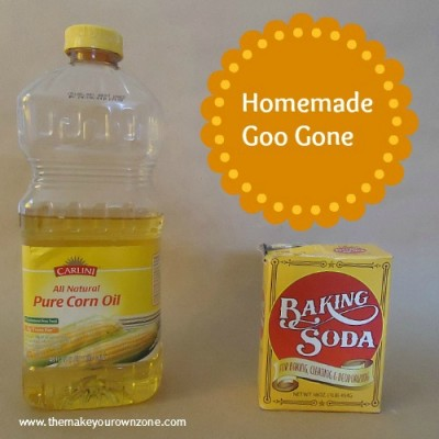 Homemade Goo Gone