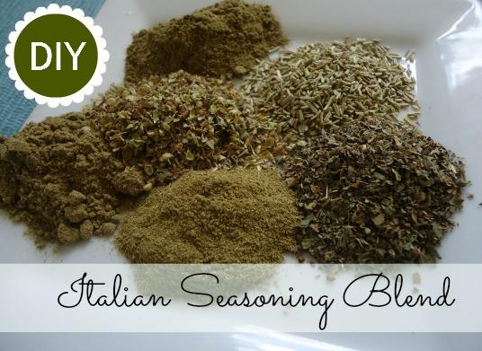 Homemade Italian Seasoning Blend