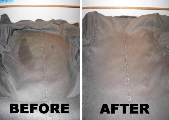 How To Get Oil Stains Out Of Fabric Car Seats