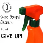3 Store Bought Cleaners I Can't Give Up