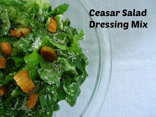 Homemade Ceasar Salad Dressing Mix