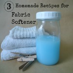 Homemade Liquid Fabric Softener Recipes