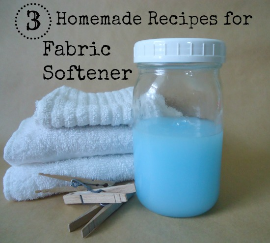 Home Made Fabric Softener Recipe