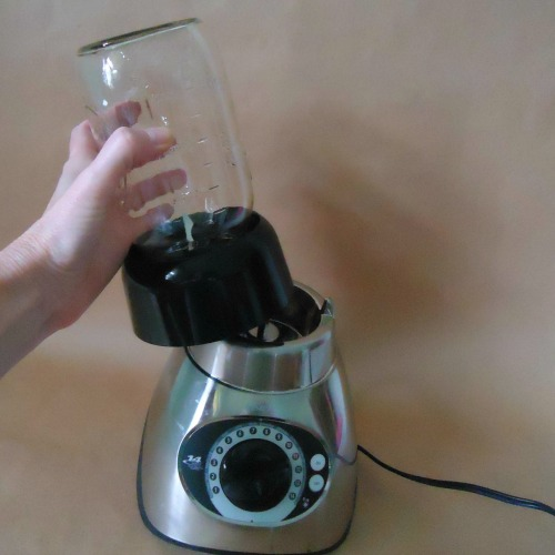 How to use a canning jar on a blender