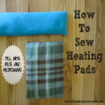 How to Sew A Homemade Heating Pad