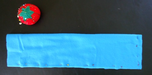 How to sew a homemade heating pad - This heating pad is filled with rice and heated in the microwave