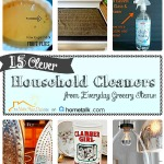 Clever Cleaners from Everyday Grocery Items