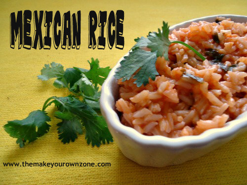 Restaurant Style Mexican Rice Recipe