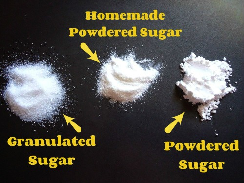 Homemade Powdered Sugar