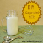 How to make homemade evaporated milk
