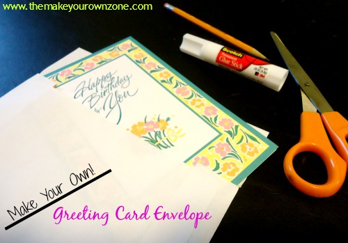Make your own greeting card envelope how to make your own greeting card envelope bookmarktalkfo
