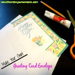 Make Your Own Greeting Card Envelope
