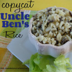 My Homemade Version of Uncle Ben's Rice