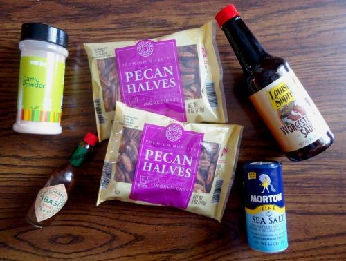 Recipe for Spicy Pecans