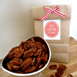 Homemade Gifts:  Spicy Pecans